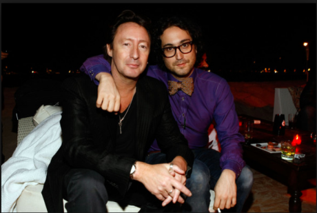Julian and Sean Lennon, Cannes 2009